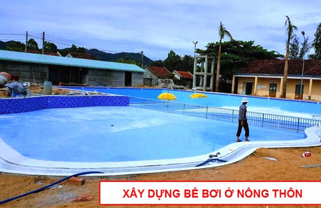 Kinh doanh bể bơi ở nông thôn