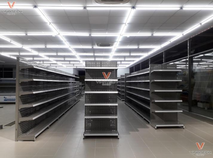 Kệ siêu thị tại Hà Nội của Vinatech Group