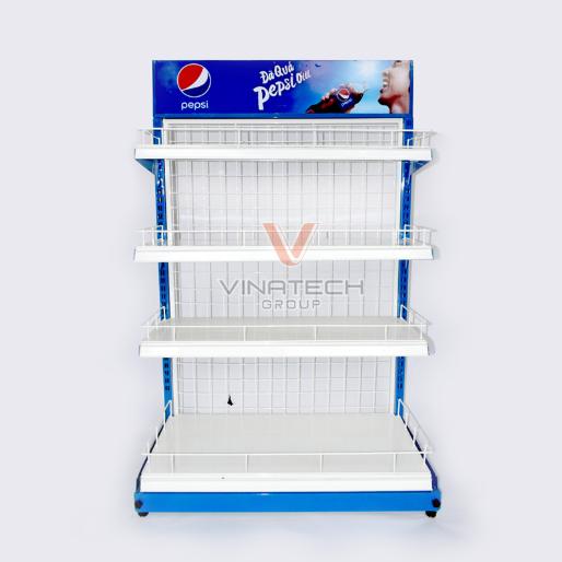 Kệ sắt quảng cáo của Vinatech Group