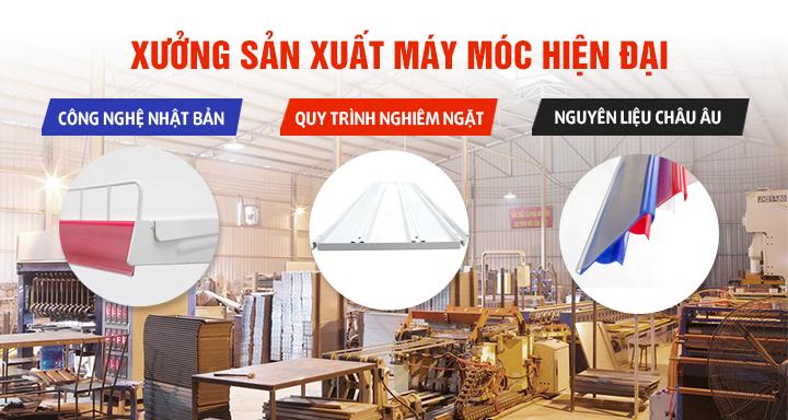 Vinatech sở hữu xưởng sản xuất máy móc hiện đại bậc nhất 1
