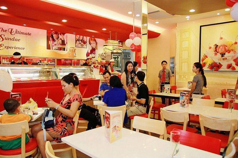 cửa hàng kem