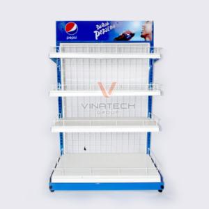 Một mẫu kệ sắt quảng cáo Vinatech đã triển khai