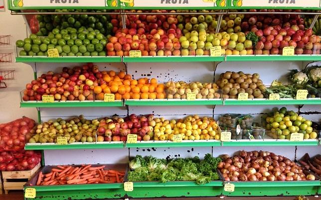 kệ để trái cây bán