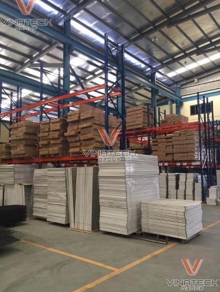 Vinatech là đơn vị sản xuất kệ siêu thị chất lượng