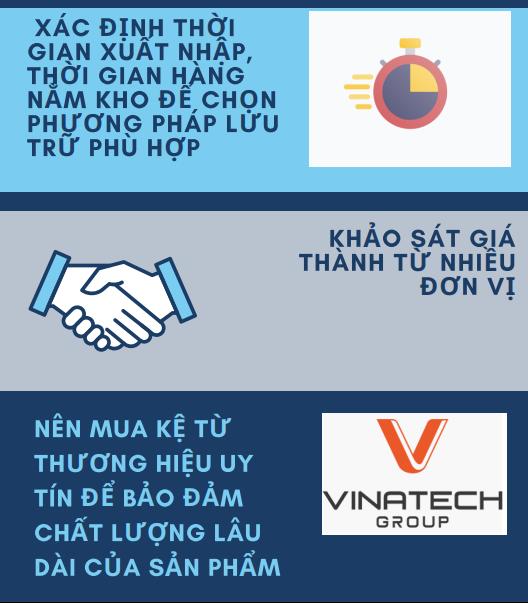 Lựa chọn mẫu kệ kho tại Quảng Ninh phù hợp