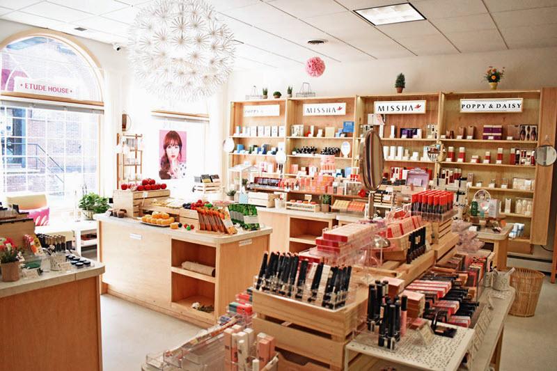 Mở cửa hàng mỹ phẩm
