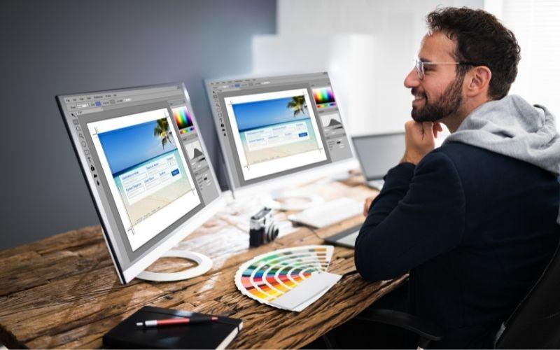 Chỉnh sửa hình ảnh và nội dung chuyên nghiệp